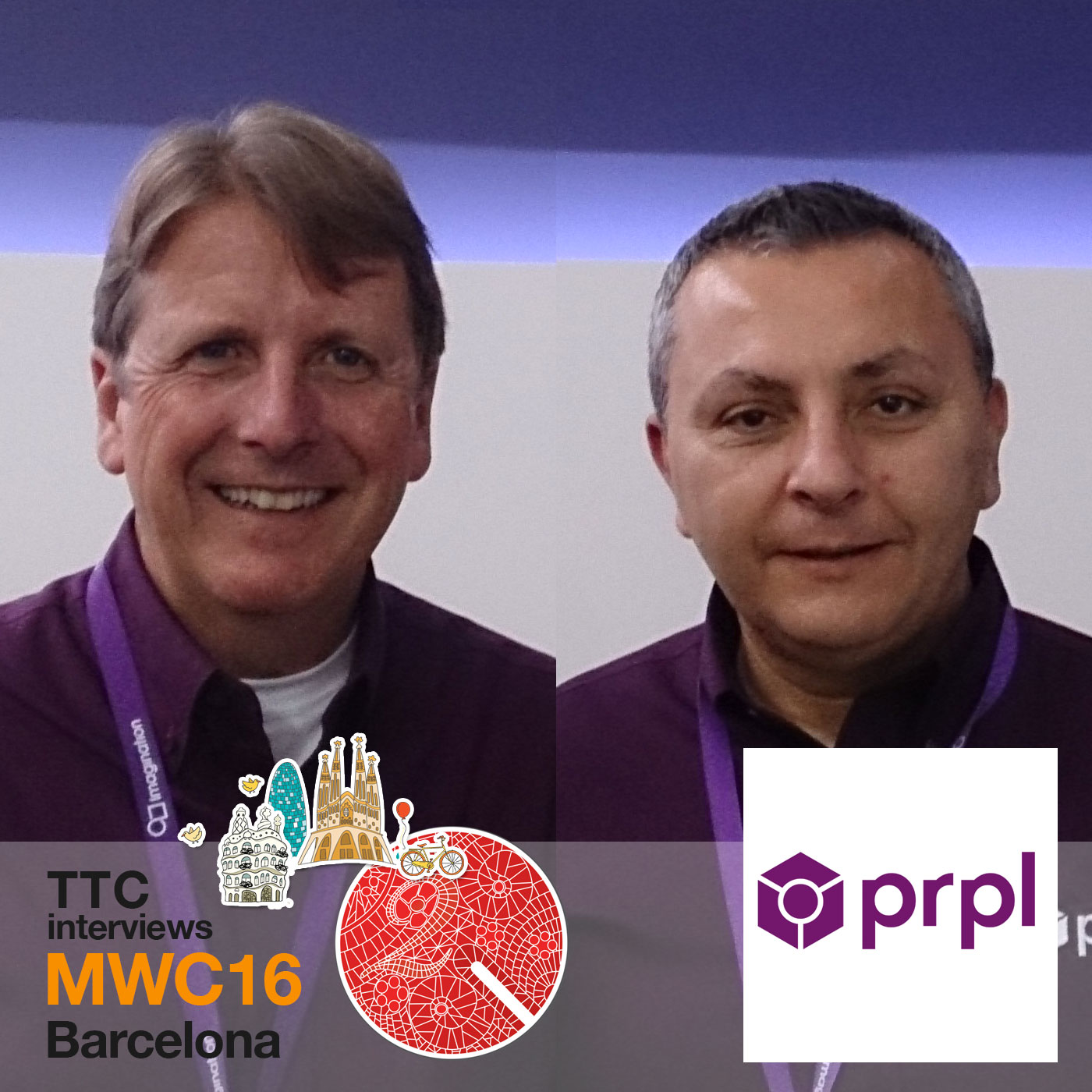 Art Swift and Cesare Garlati prpl foundation MWC16